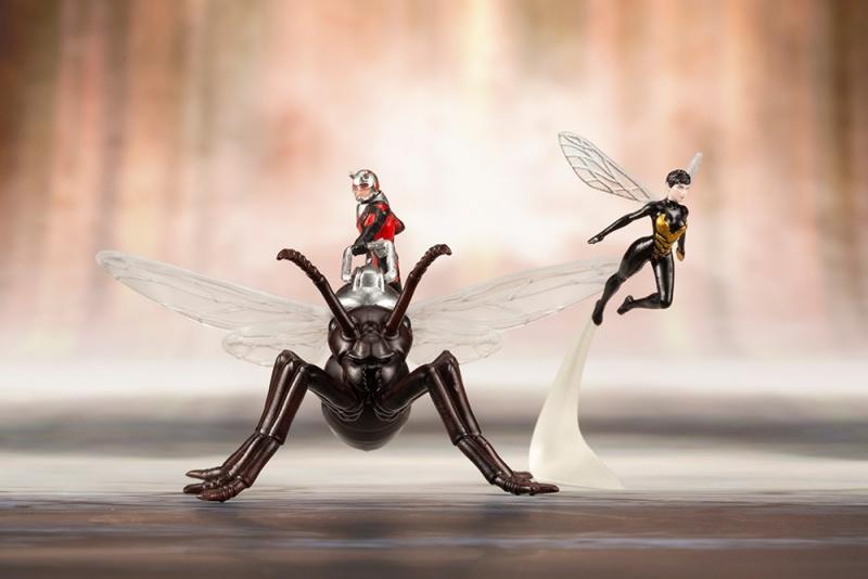 Kotobukiya ARTFX+ Astonishing Ant-Man and The Wasp