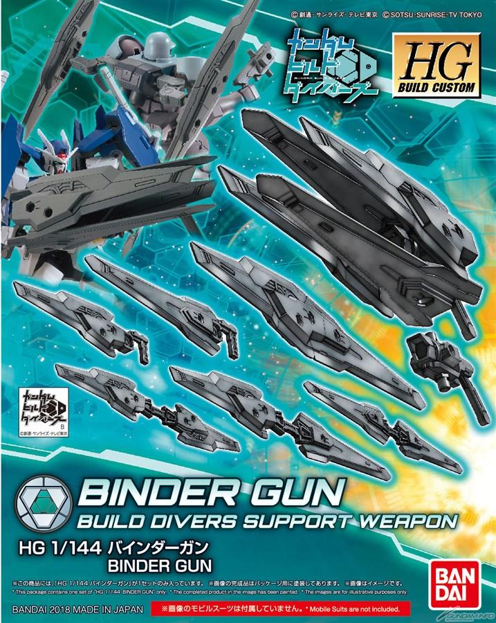 Bandai HGBC Binder Gun