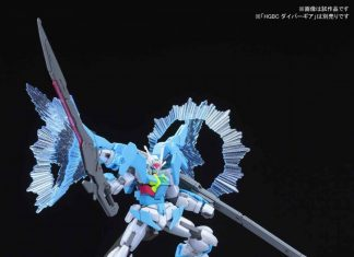 Bandai HGBD Gundam 00 Sky Higher Than Sky Phase
