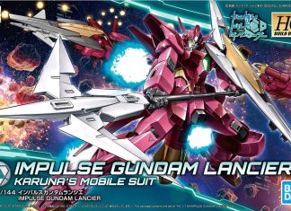 Bandai HGBD Impulse Gundam Lancier