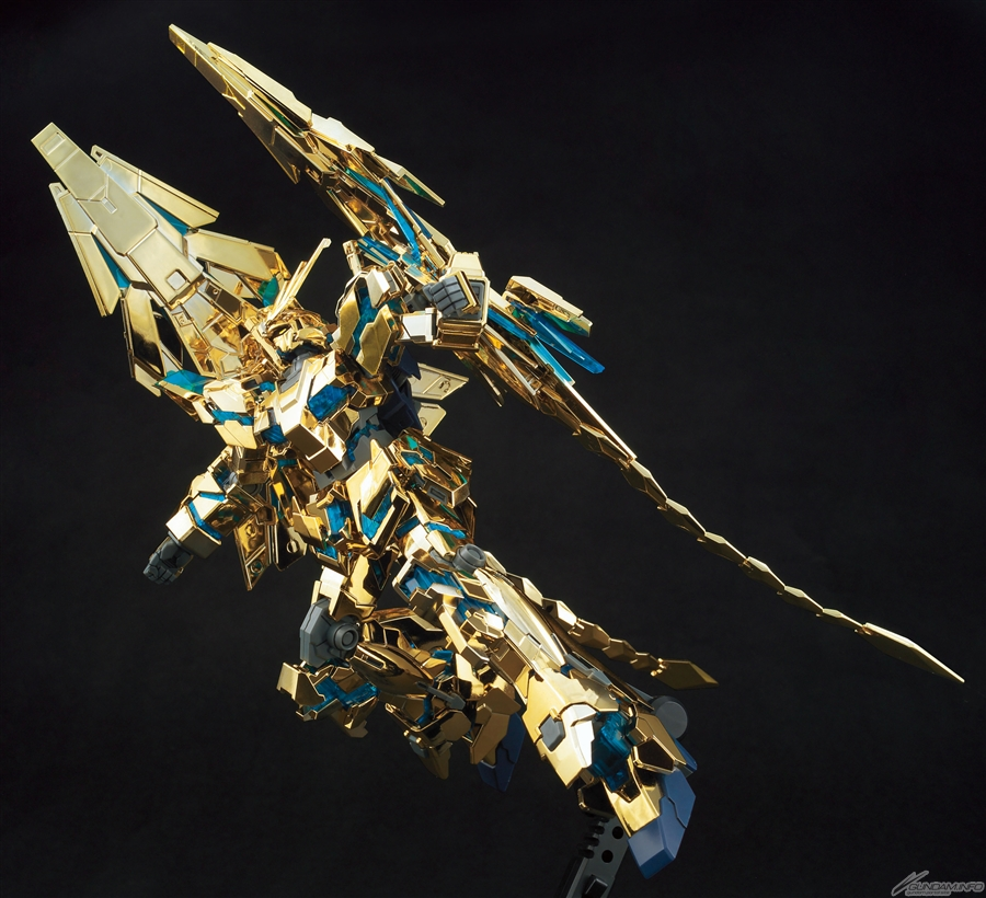 HGUC Unicorn Gundam Phenex Destroy Mode NARRATIVE Version Gold Coating