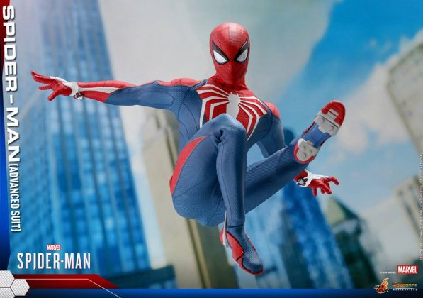 Hot Toys Marvel Spider-Man Advanced Suit Collectible Figure