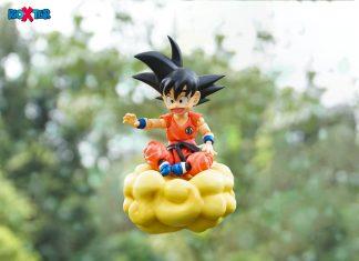 Kid Goku Going To Enjoy The Weekend