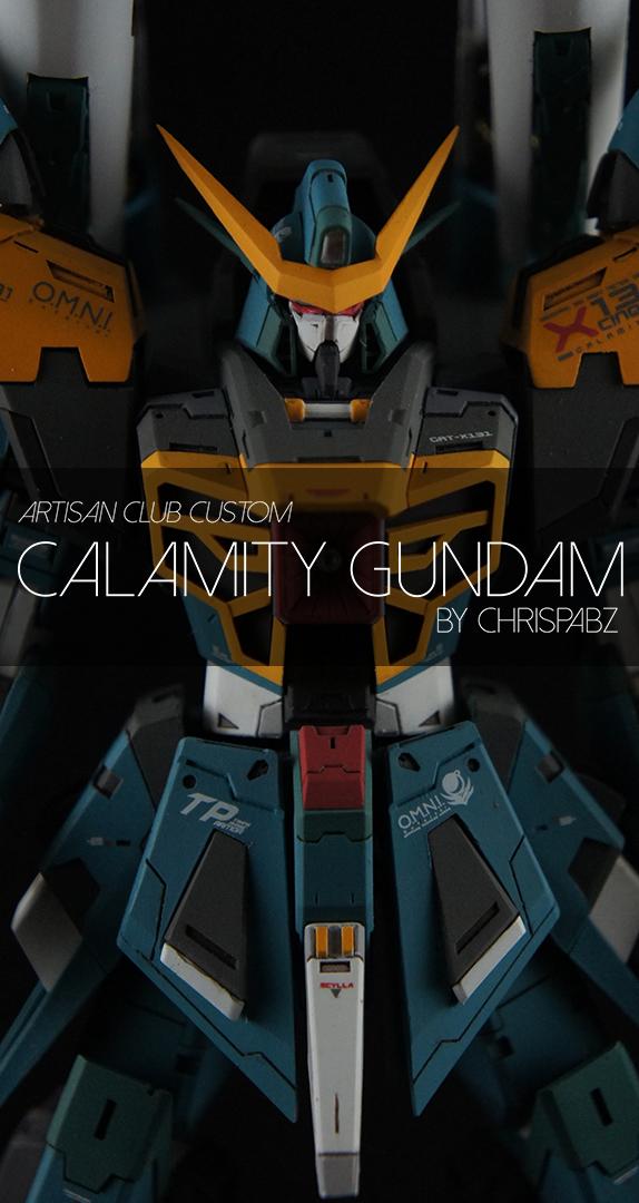 MG Calamity Gundam GK Custom