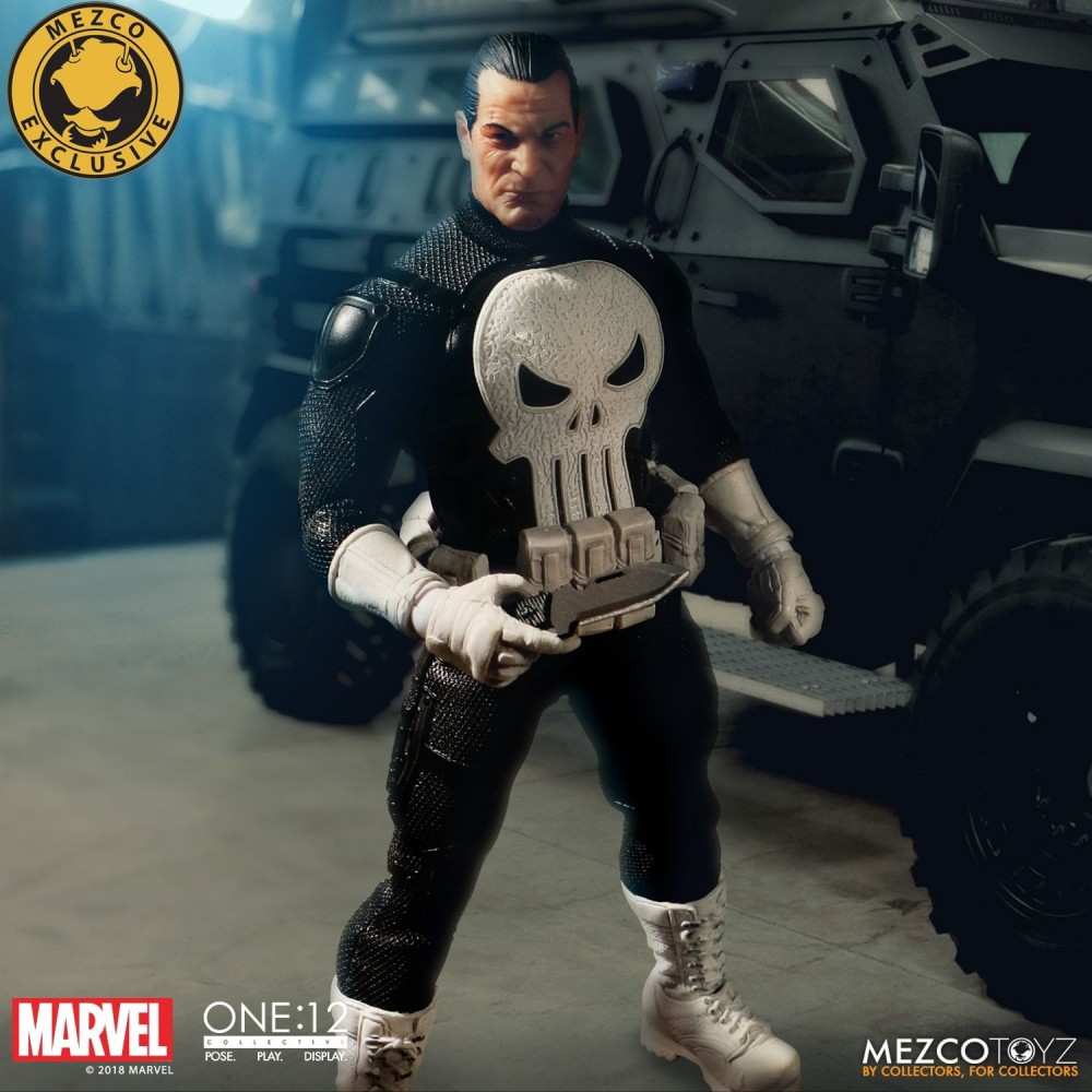 Mezco Toyz One:12 Collective Series Punisher Special Ops Edition