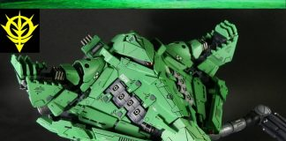 Mobile Armor Bigro Gundam Model Kit Customize