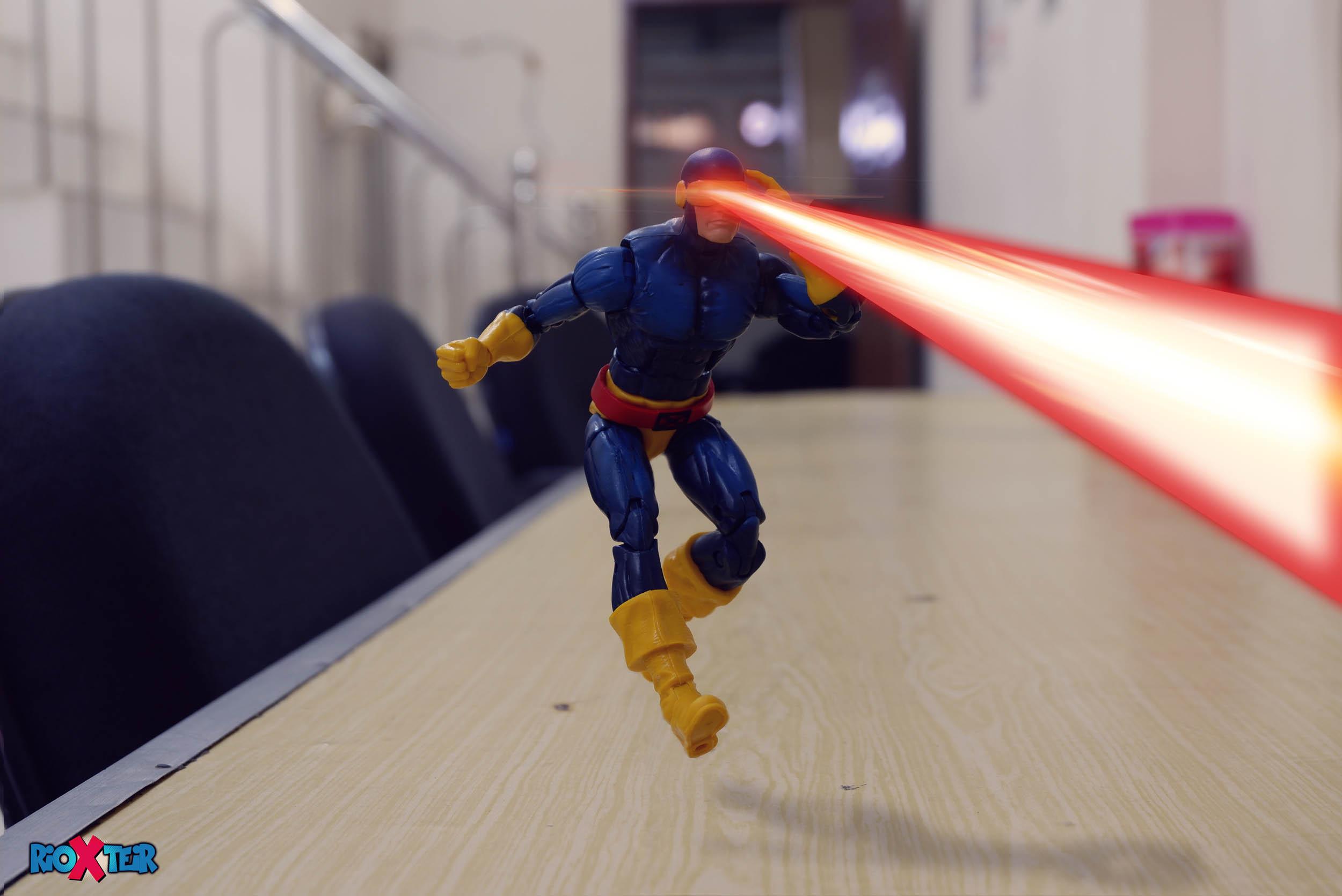 Photoshop Tutorial How To Make Cyclops Optic Beam