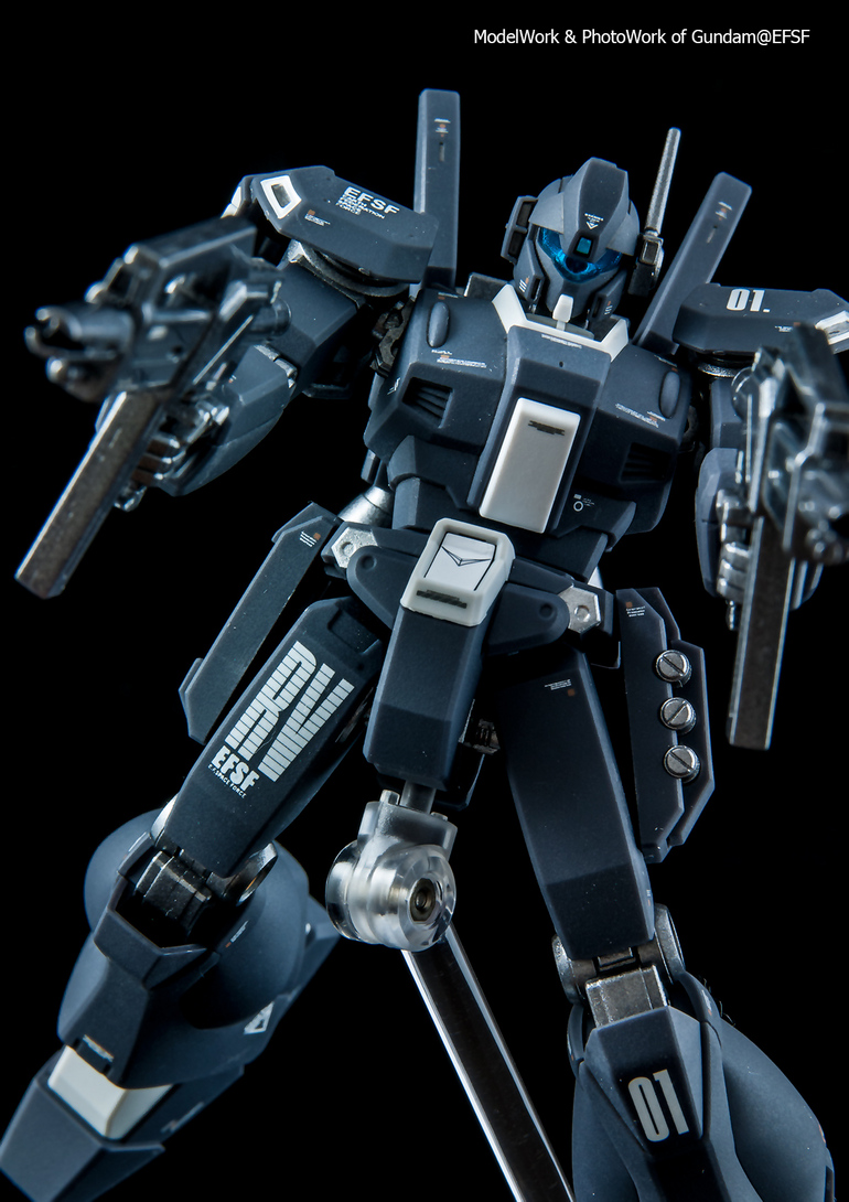 HGUC Piko Altidore Use Jegan Type-D Painted Build