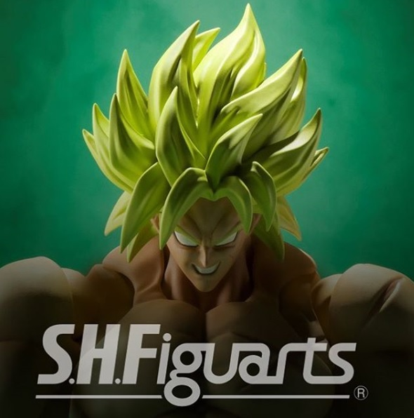 Bandai SHFiguarts Dragon Ball Super Broly SDCC 2018