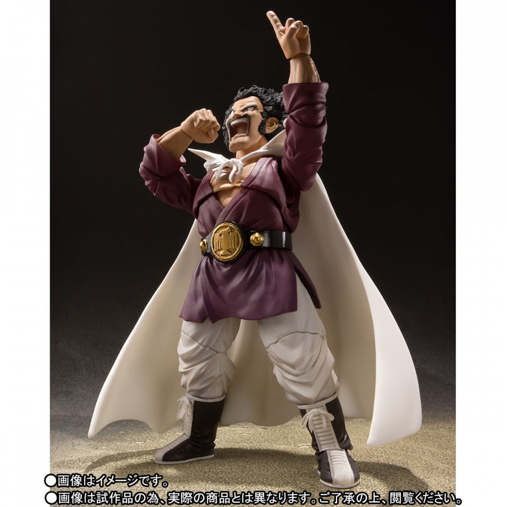 Bandai SHFiguarts Dragon Ball Z Mr Satan