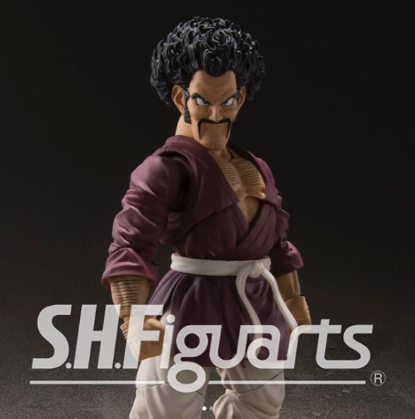 Bandai SHFiguarts Dragon Ball Z Mr. Satan