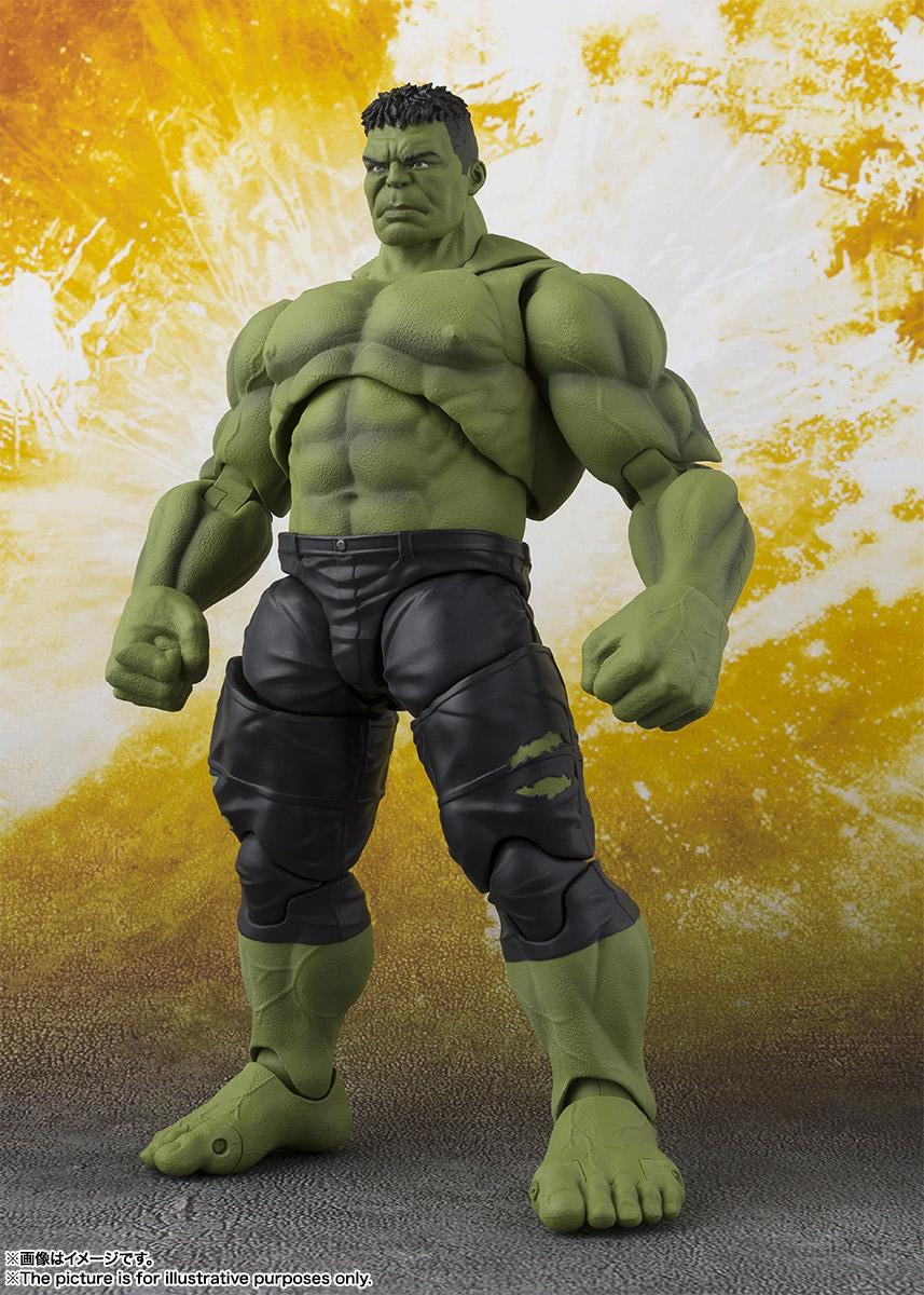 Bandai SHF Hulk Avengers Infinity War