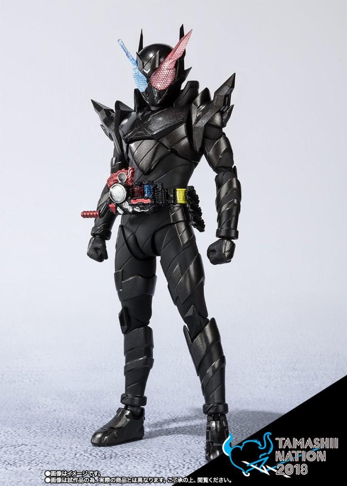 Bandai SHFiguarts Kamen Rider Build Rabbittank Hazard Form