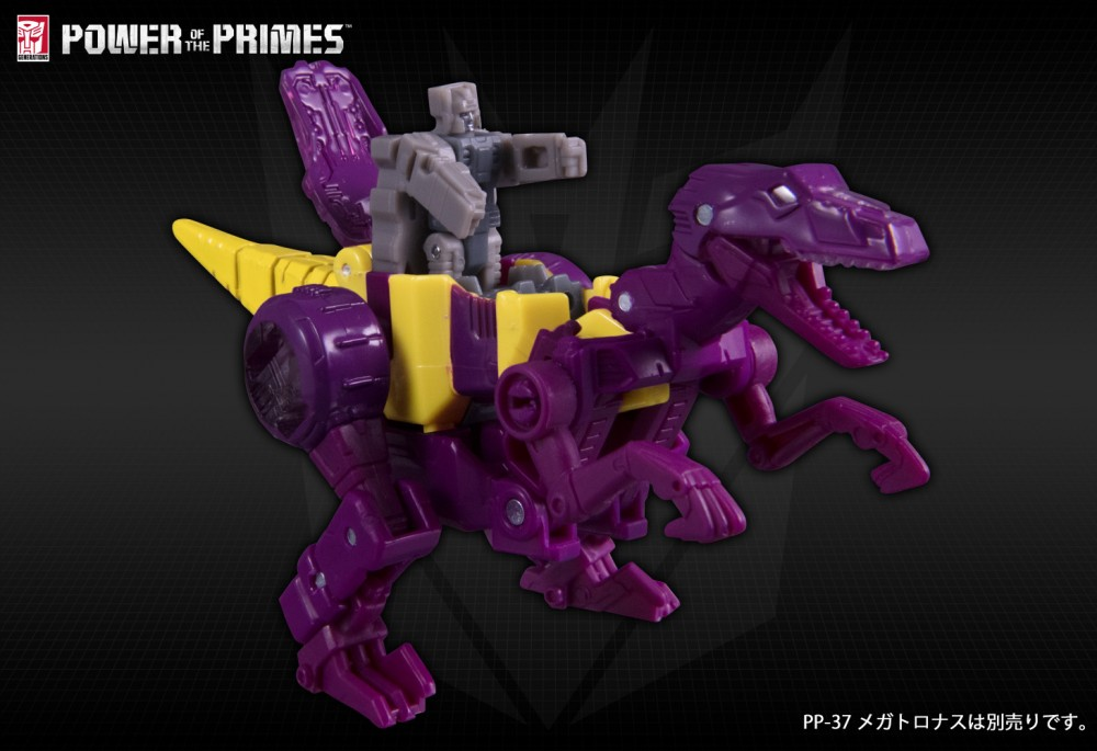 Takara Tomy Transformers Power of the Primes Cindersaur