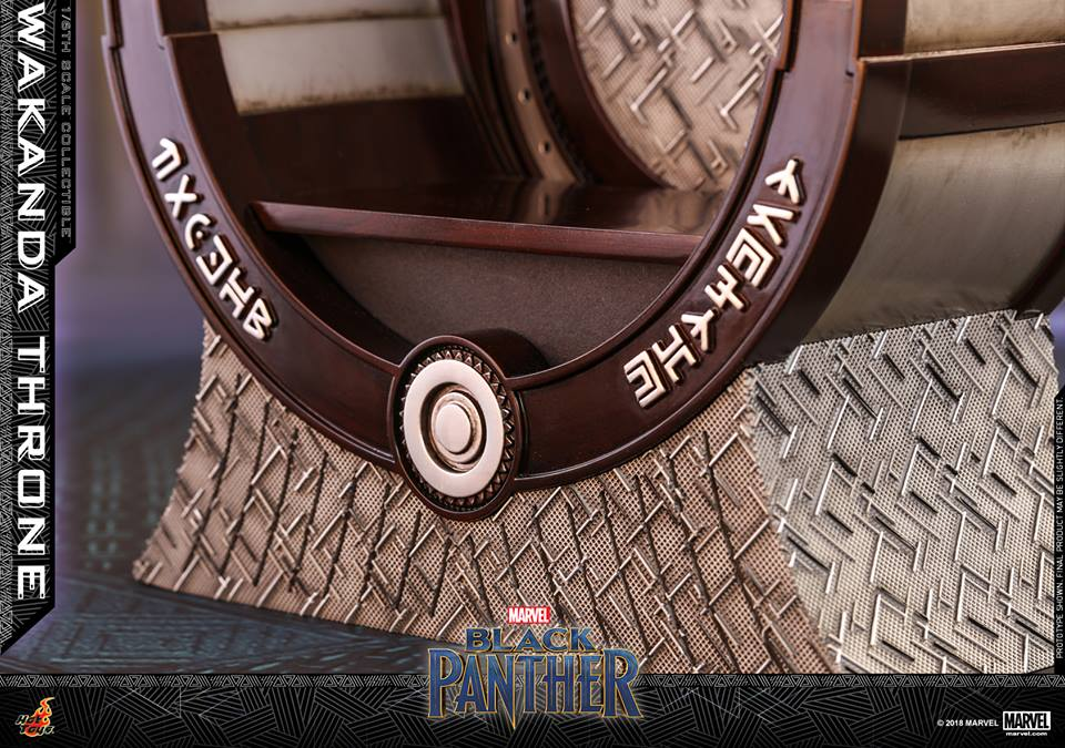 Hot Toys Black Panther Wakanda Throne
