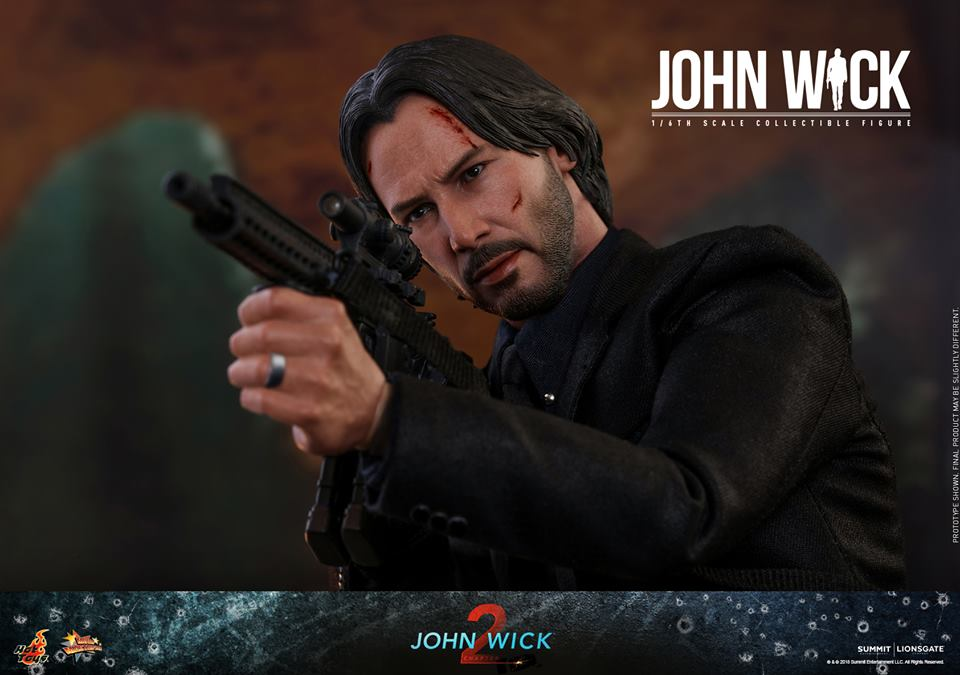 Hot Toys John Wick Chapter two
