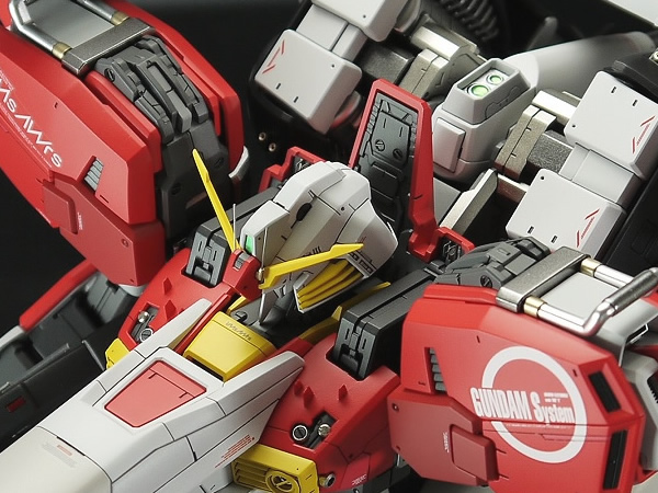 Bandai MG Deep Striker Gundam Custom Build