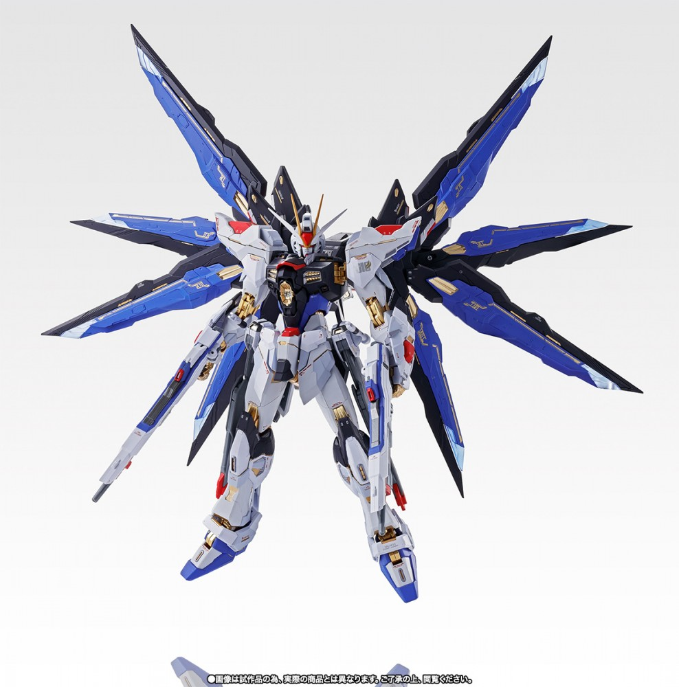 Bandai Metal Build Strike Freedom Gundam Soul Blue Version
