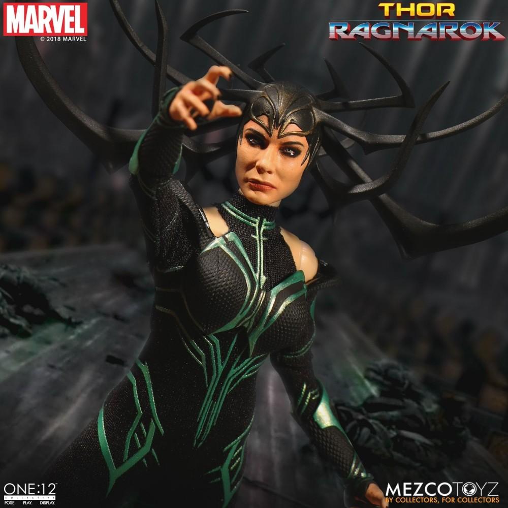 Mezco Toyz ONE12 COLLECTIVE Thor Ragnarok Hela