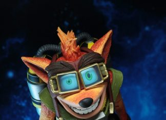 Neca 7inch Crash Bandicoot Deluxe Crash with Jet Pack