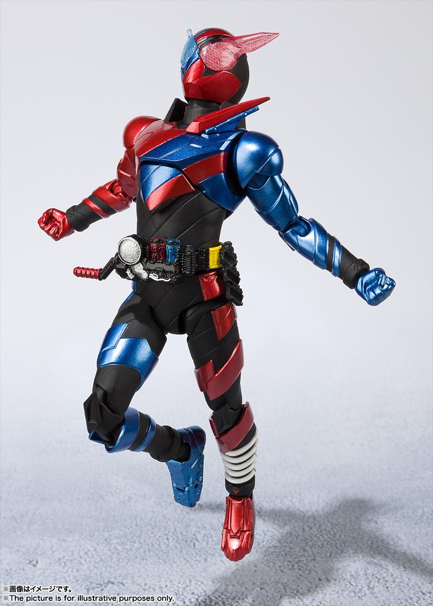 SHFiguarts Masked Rider Build Rabbit Tank 20 Kamen Rider Kicks Ver.