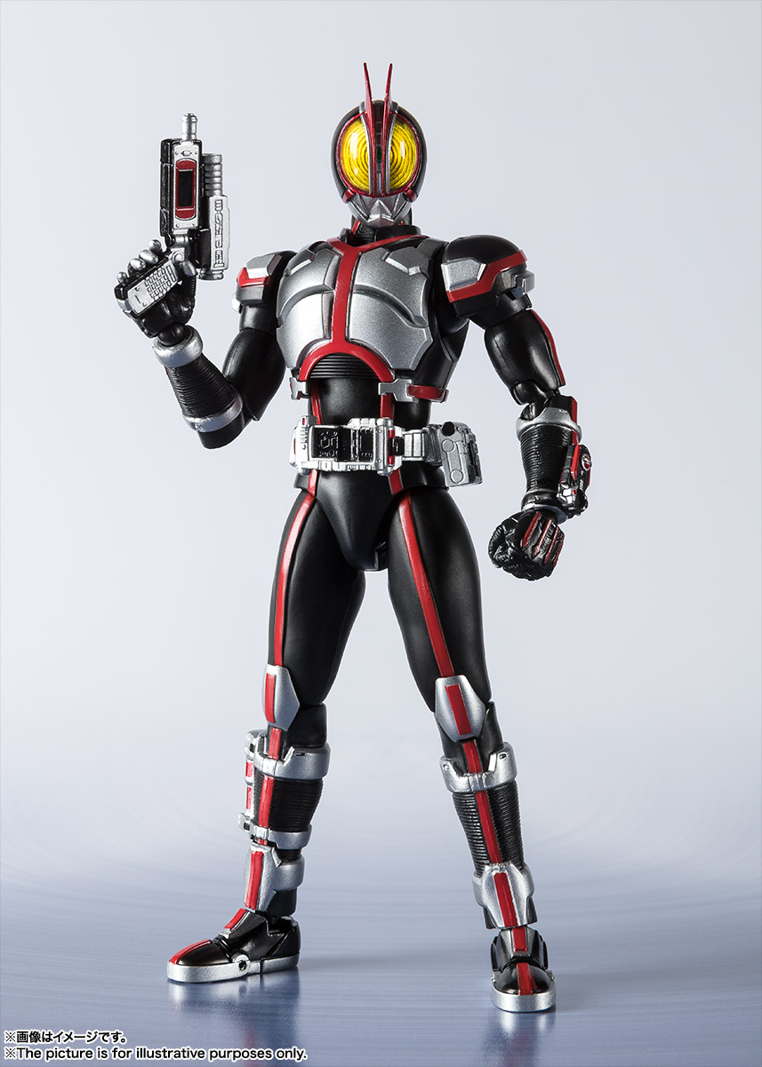 SHFiguarts Masked Rider Faiz 20 Kamen Rider Kicks Ver.