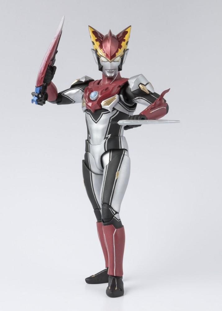 Bandai SHFiguarts Ultraman Rosso Flame