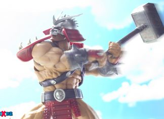 Shao Kahn Going Full Burst