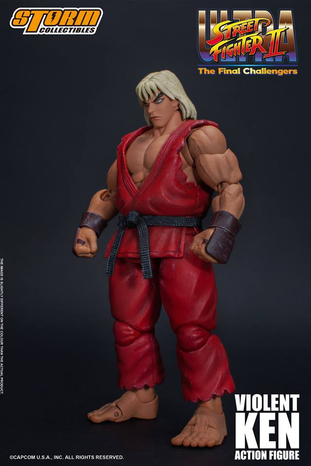 Storm Collectibles Ultra Street Fighter II Violent Ken
