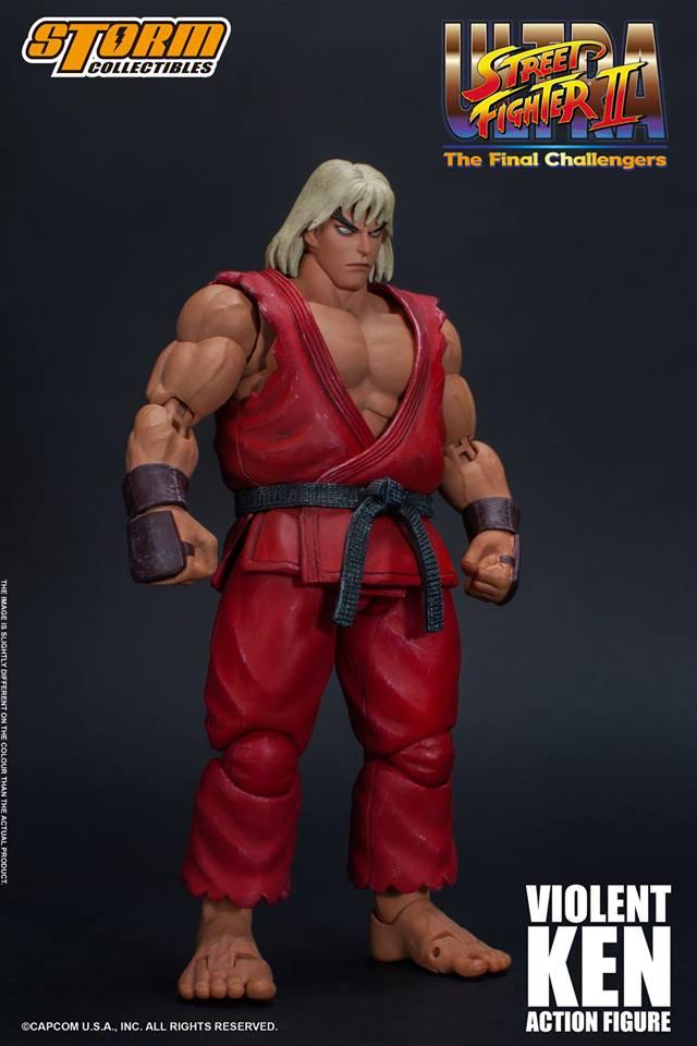 Storm Collectibles Ultra Street Fighter II Violent Ken