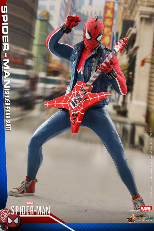 Hot Toys Spider-Man Spider-Punk Suit