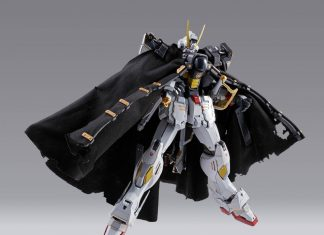 Bandai Metal Build Crossbone Gundam X1