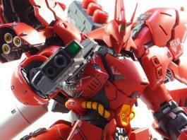 Bandai RG Sazabi painted build