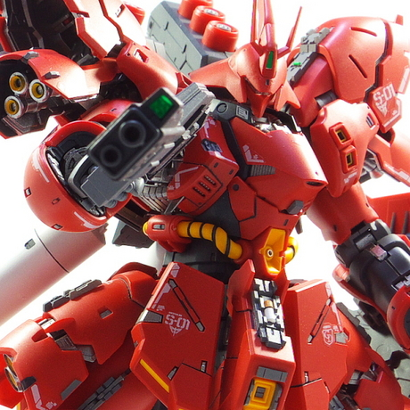 Bandai RG Sazabi painted build