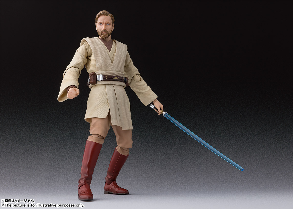 SHFiguarts Revenge of the Sith Obi-Wan Kenobi