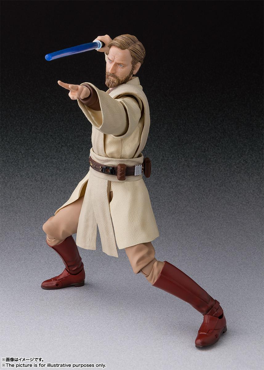SHFiguarts Revenge of the Sith Obi-Wan Kenobi