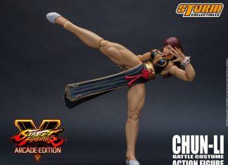 Storm Collectibles Street Fighter V Chun-Li Battle Costume NYCC 2018