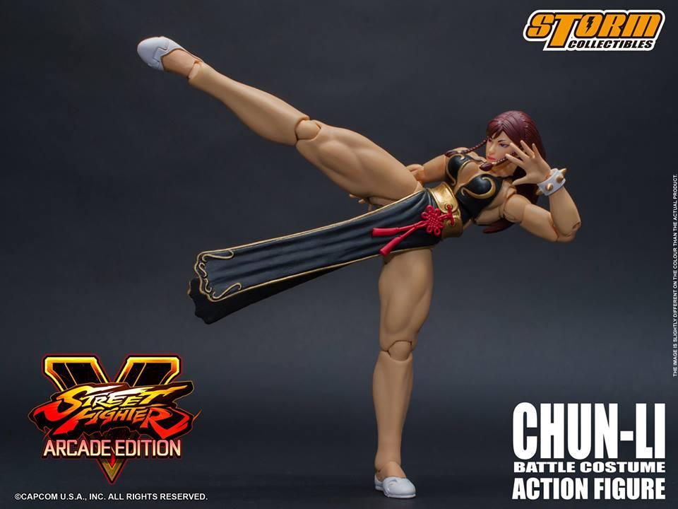 Storm Collectibles Chun Li Battle Costume Street Fighter V Rio