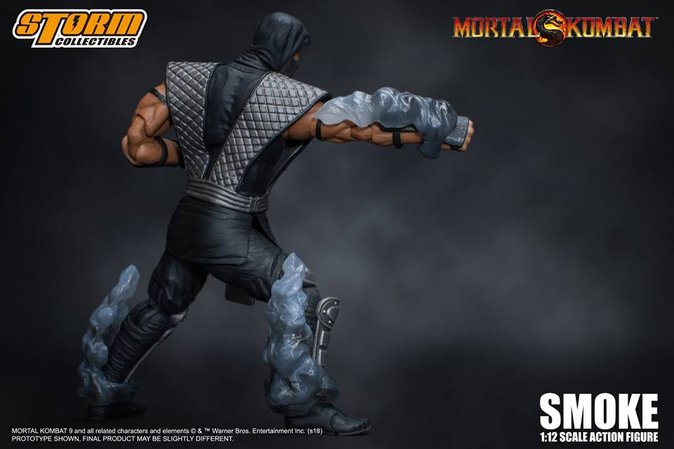 Storm Collectibles Mortal Kombat Smoke Action Figure
