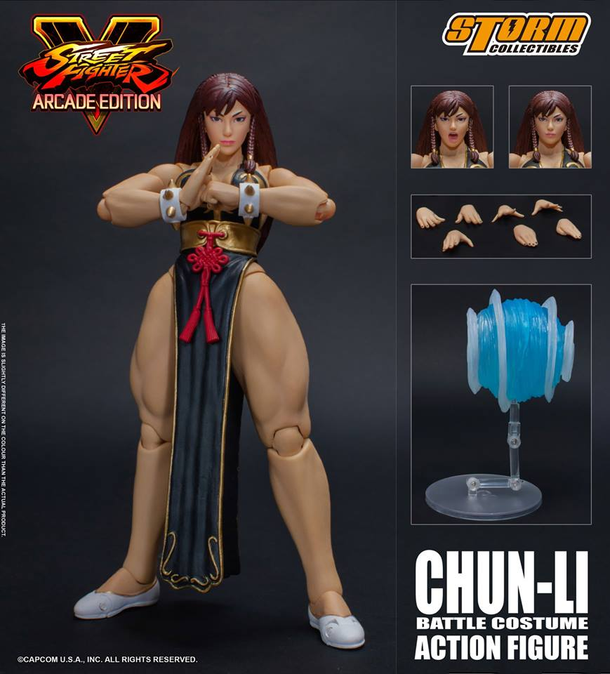 Storm Collectibles Street Fighter V Chun-Li Battle Costume NYCC 2018