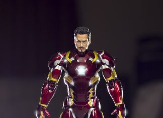 SHFiguarts Iron Man Mark 46 Civil War