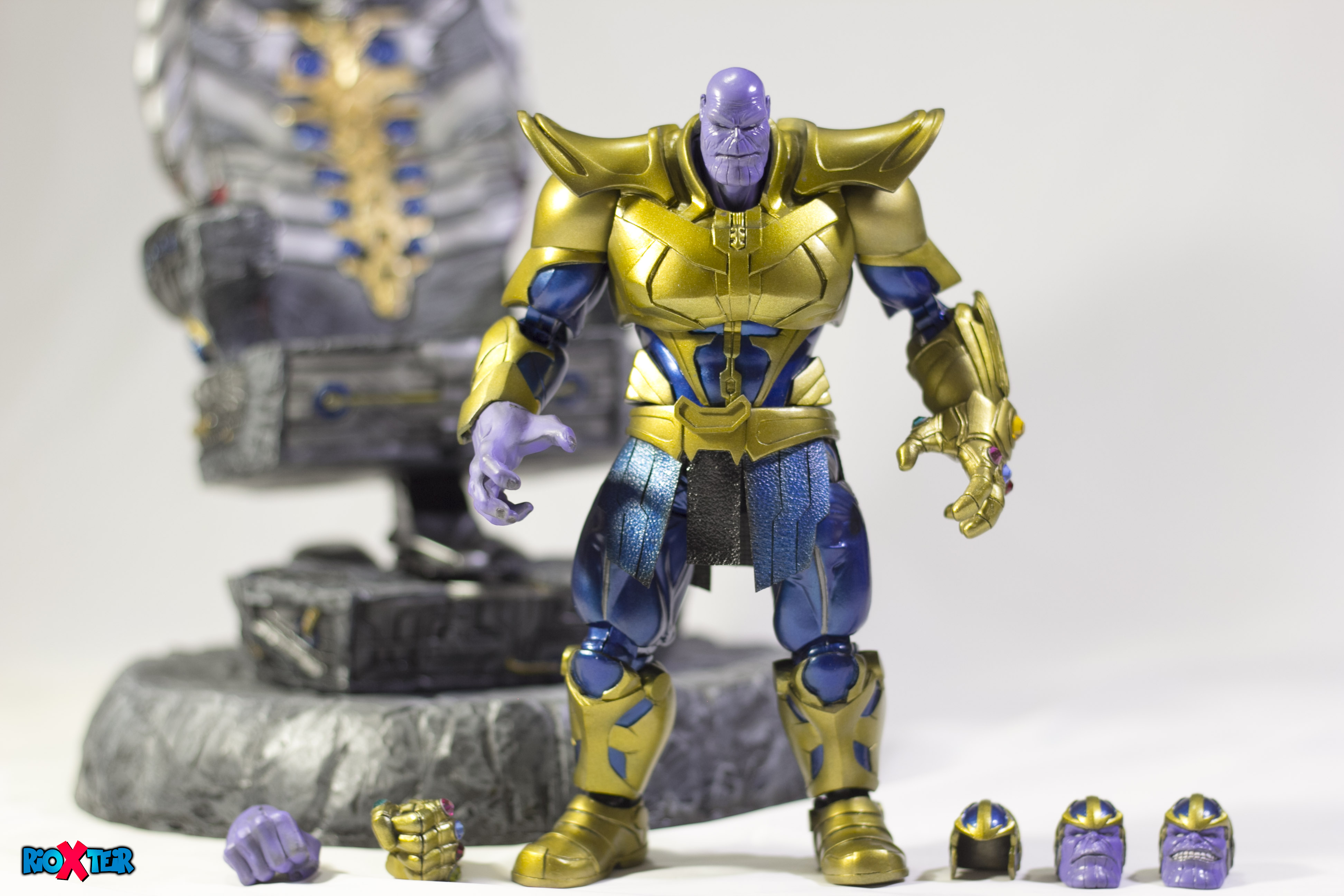 Custom SHFiguarts Thanos Comic Version Action Figure