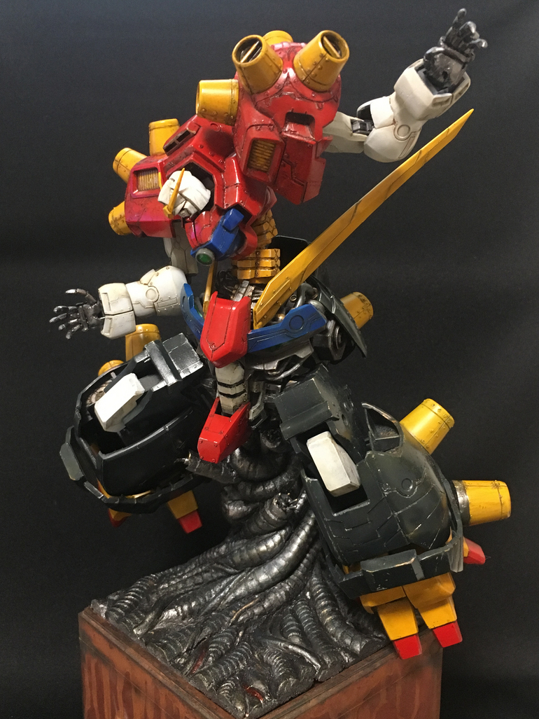 Devil Gundam Custom Work by REN_W_MG