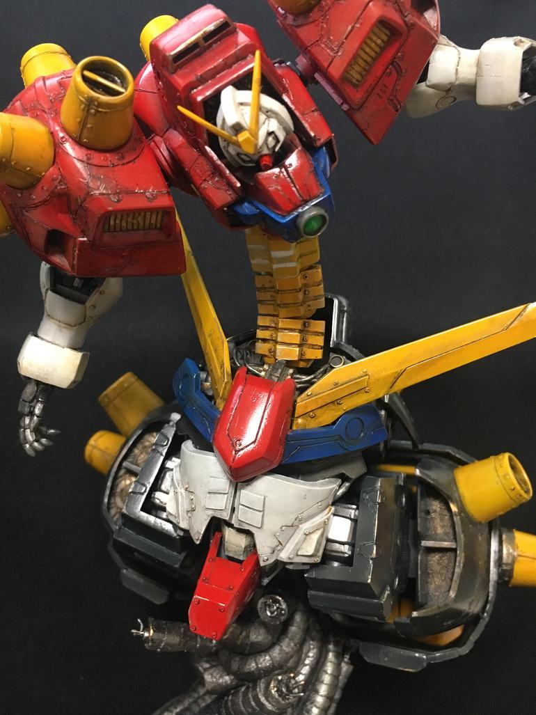 Devil Gundam Custom Work by REN_W_MG