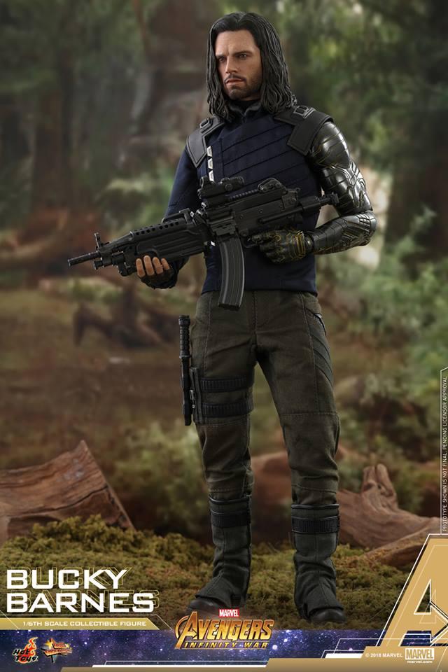 Hot Toys Avengers Infinity War Bucky Barnes