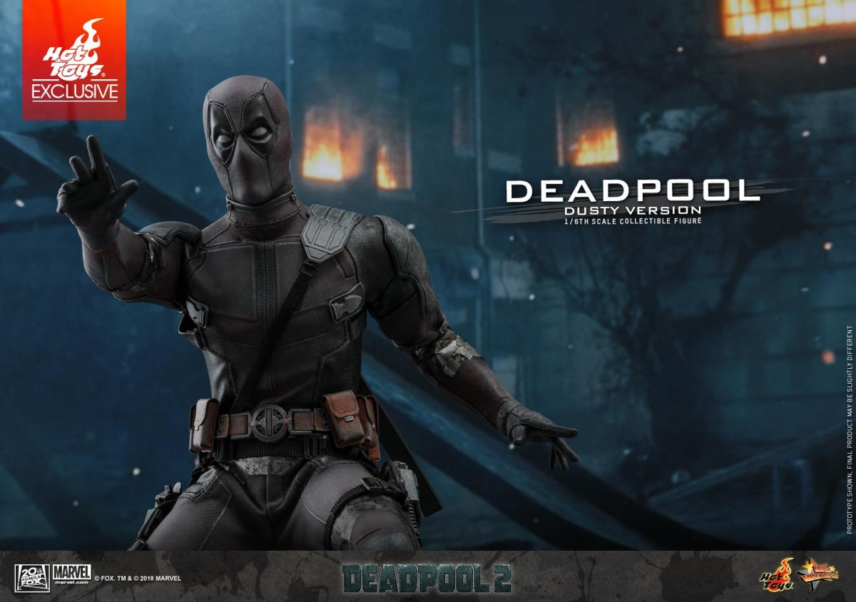 Hot Toys Deadpool Dusty Version Action Figure