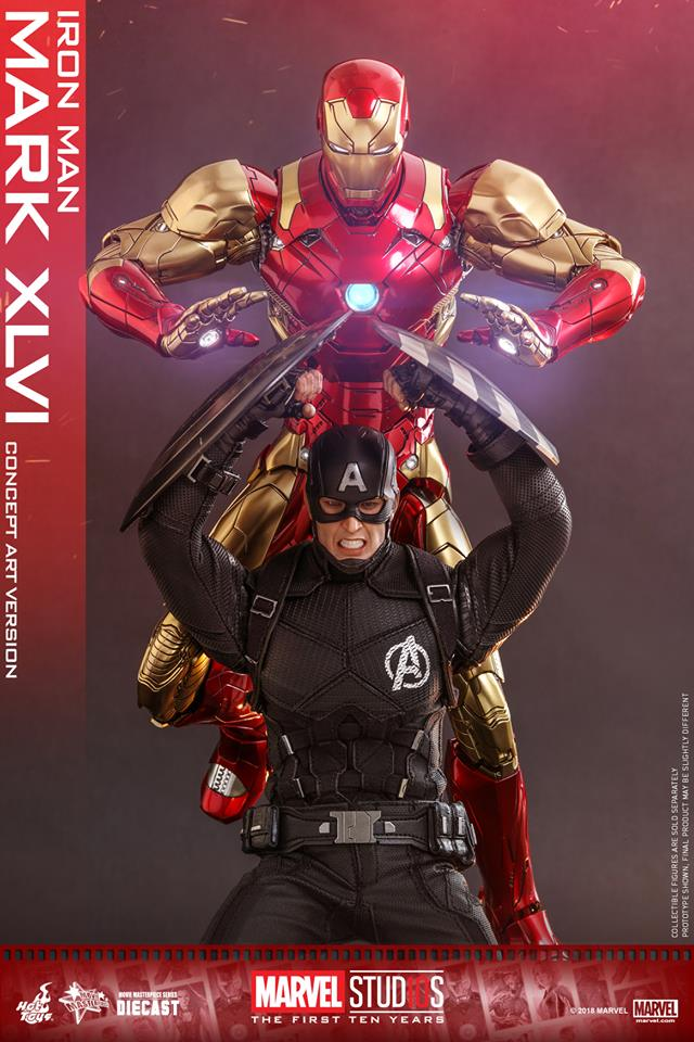 Hot Toys Iron Man Mark XLVI Concept Art Version