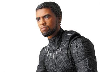 Medicom MAFEX Black Panther Marvel Action Figure