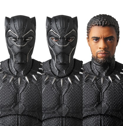 Medicom MAFEX Black Panther Marvel Action Figure