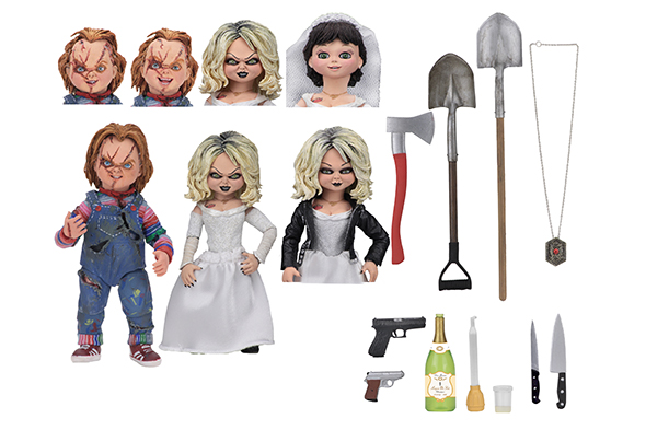 Neca Bride of Chucky 7inch Ultimate Chucky and Tiffany 2-Pack